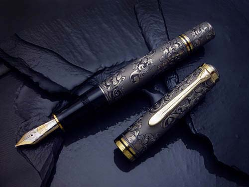 classic engraved Fountain pen
