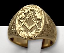 masonic without G signet