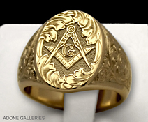 masonic blue lodge ring
