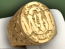 custom made WWII signet